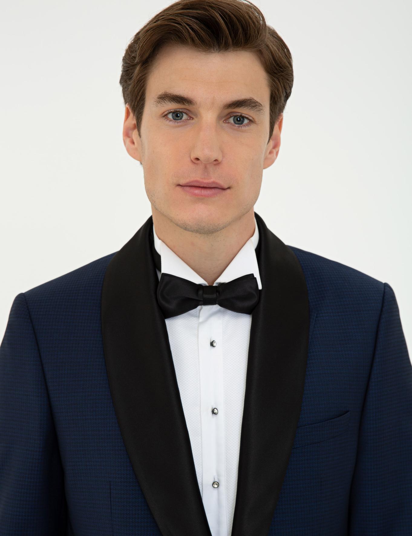 Lacivert Slim Fit Takım Elbise - 50232899017