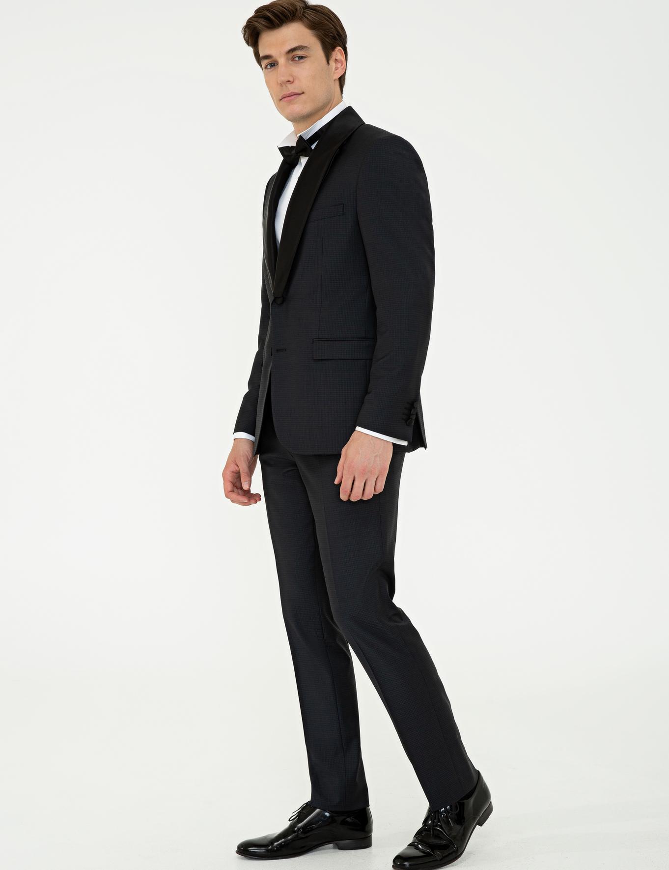 Siyah Slim Fit Takım Elbise - 50232899047
