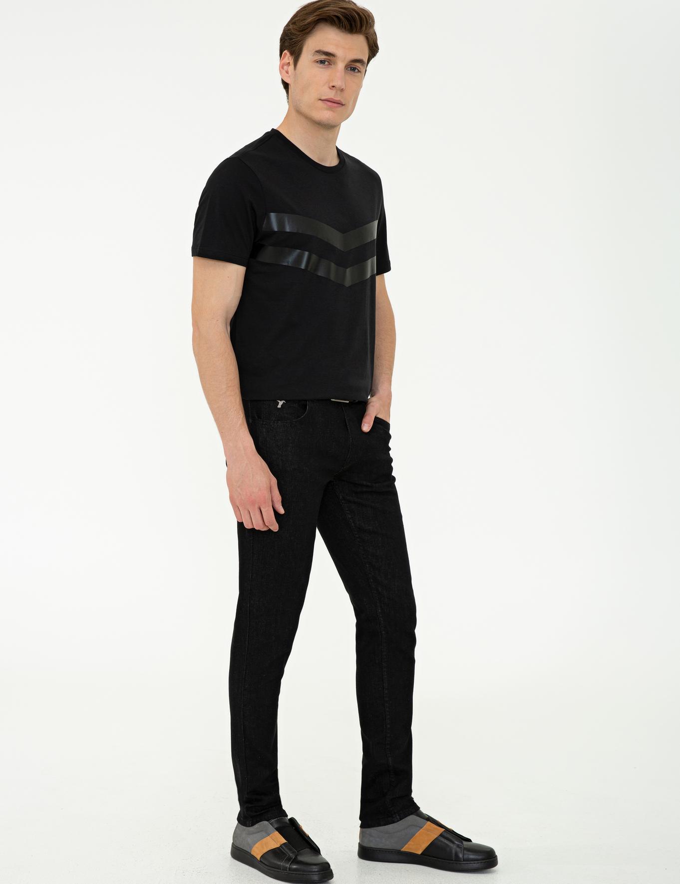 Siyah Slim Fit Denim - 50240018012