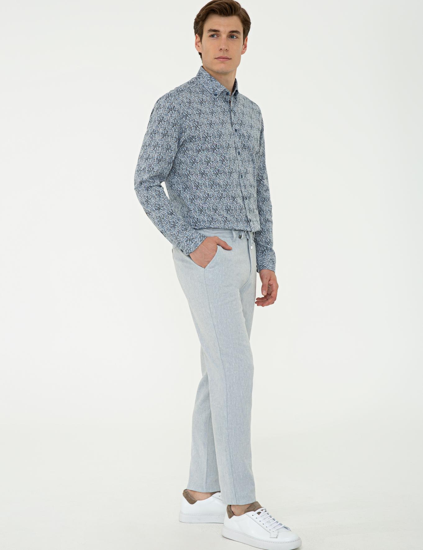 Açık Mavi Carrot Chino - 50235922302