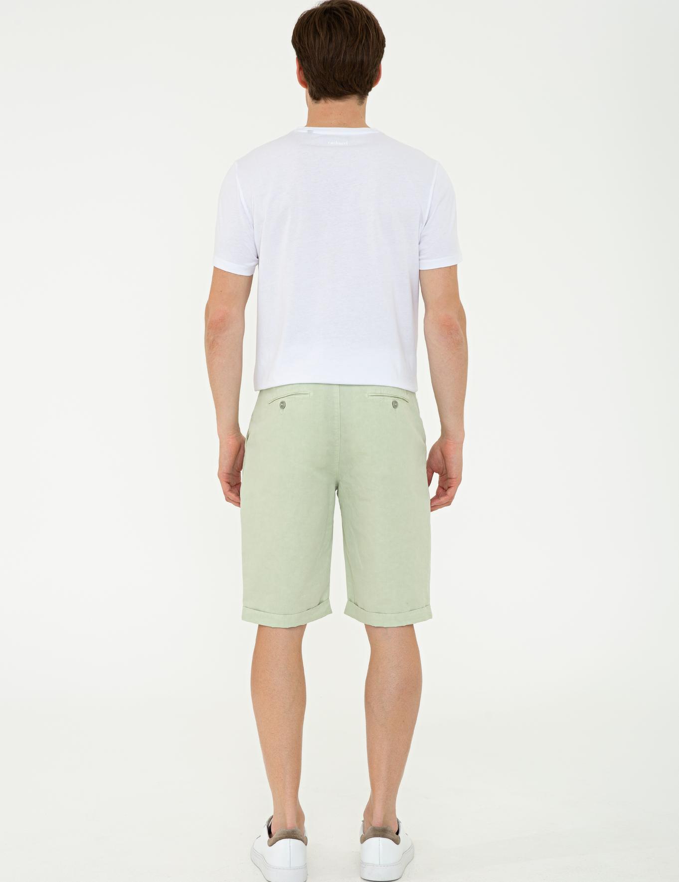 Yeşil Bermuda Şort - 50233030080
