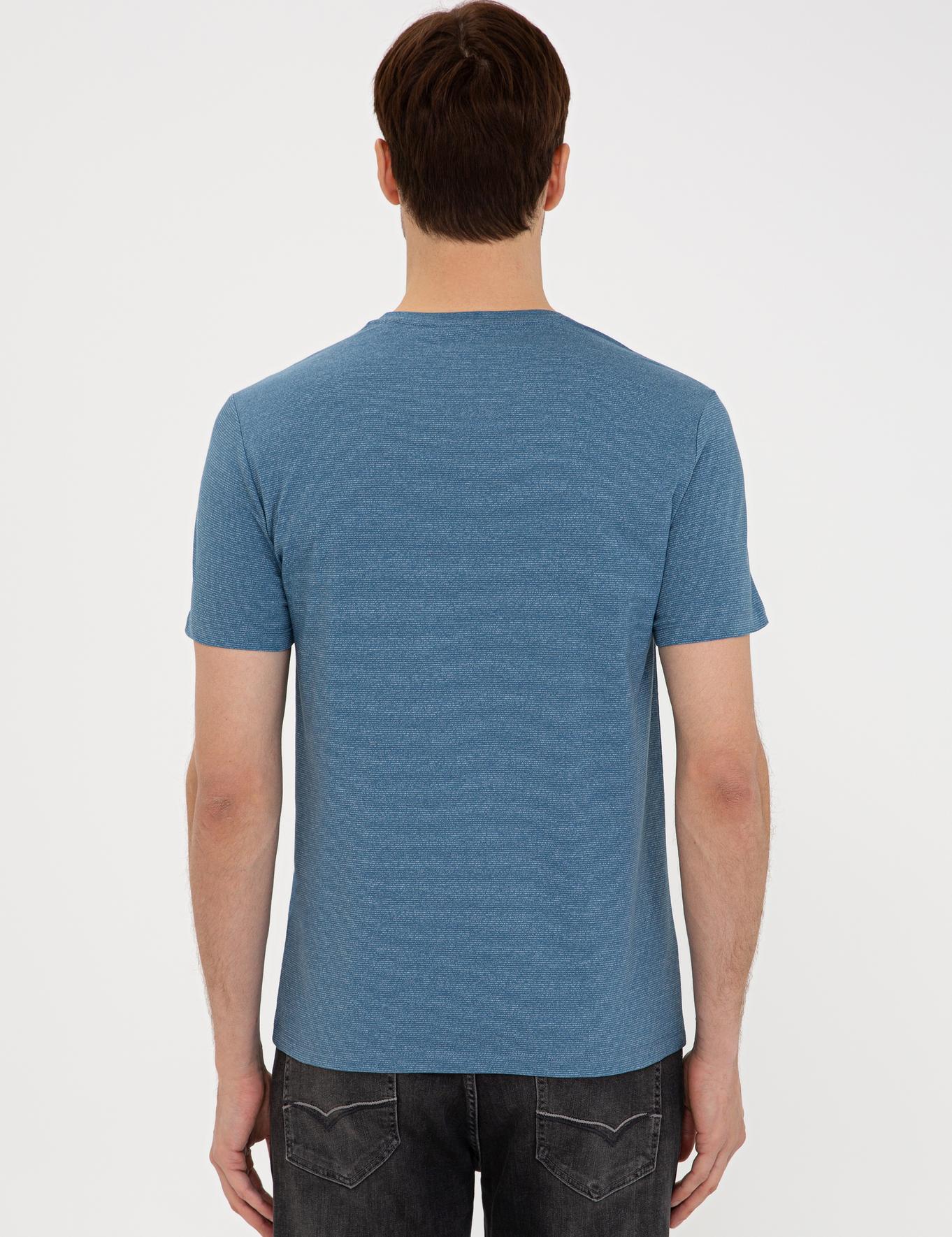 Bisiklet Yaka T-Shirt - 50240270027