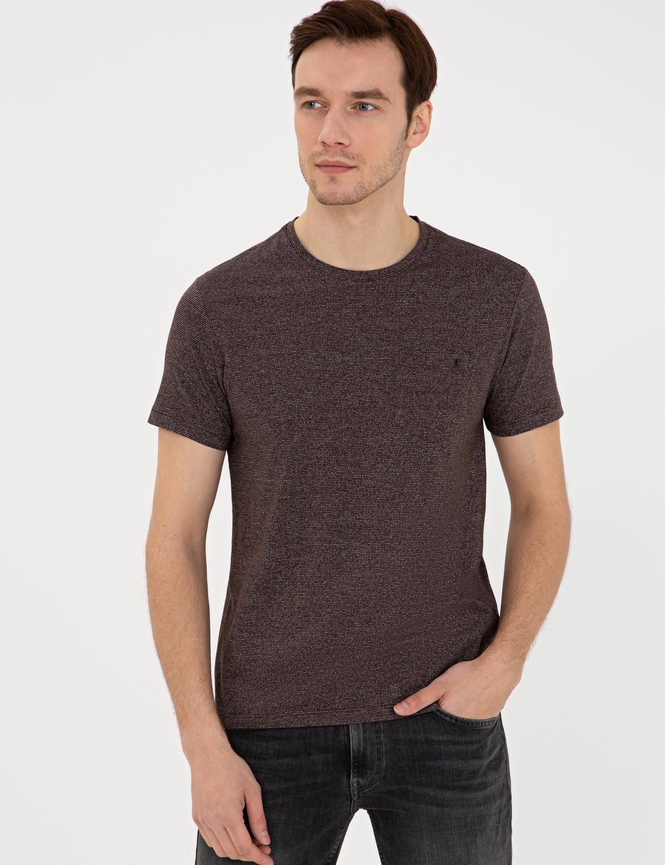 Bisiklet Yaka T-Shirt - 50240270033