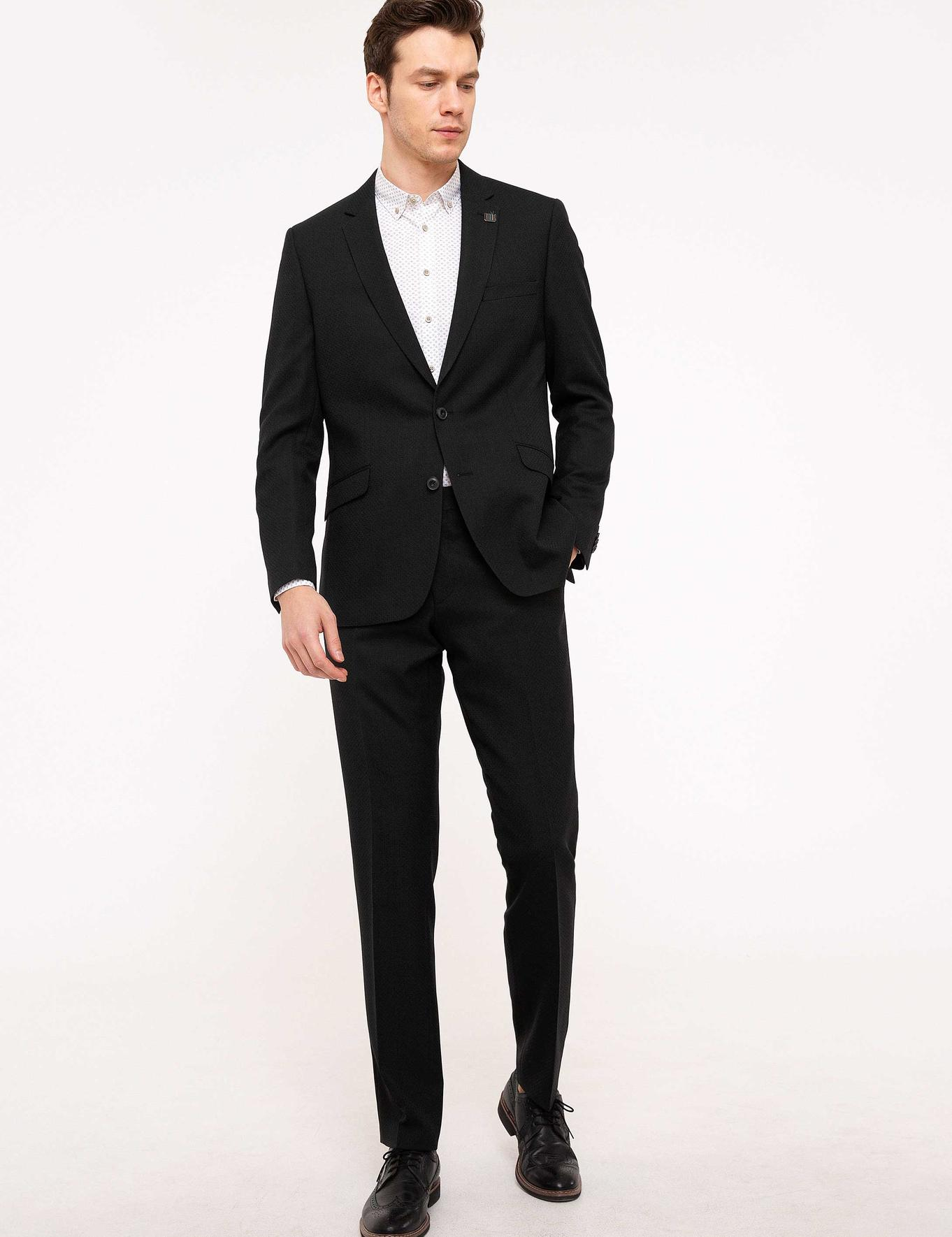 Yeşil Slim Fit Takım Elbise - 50200671020