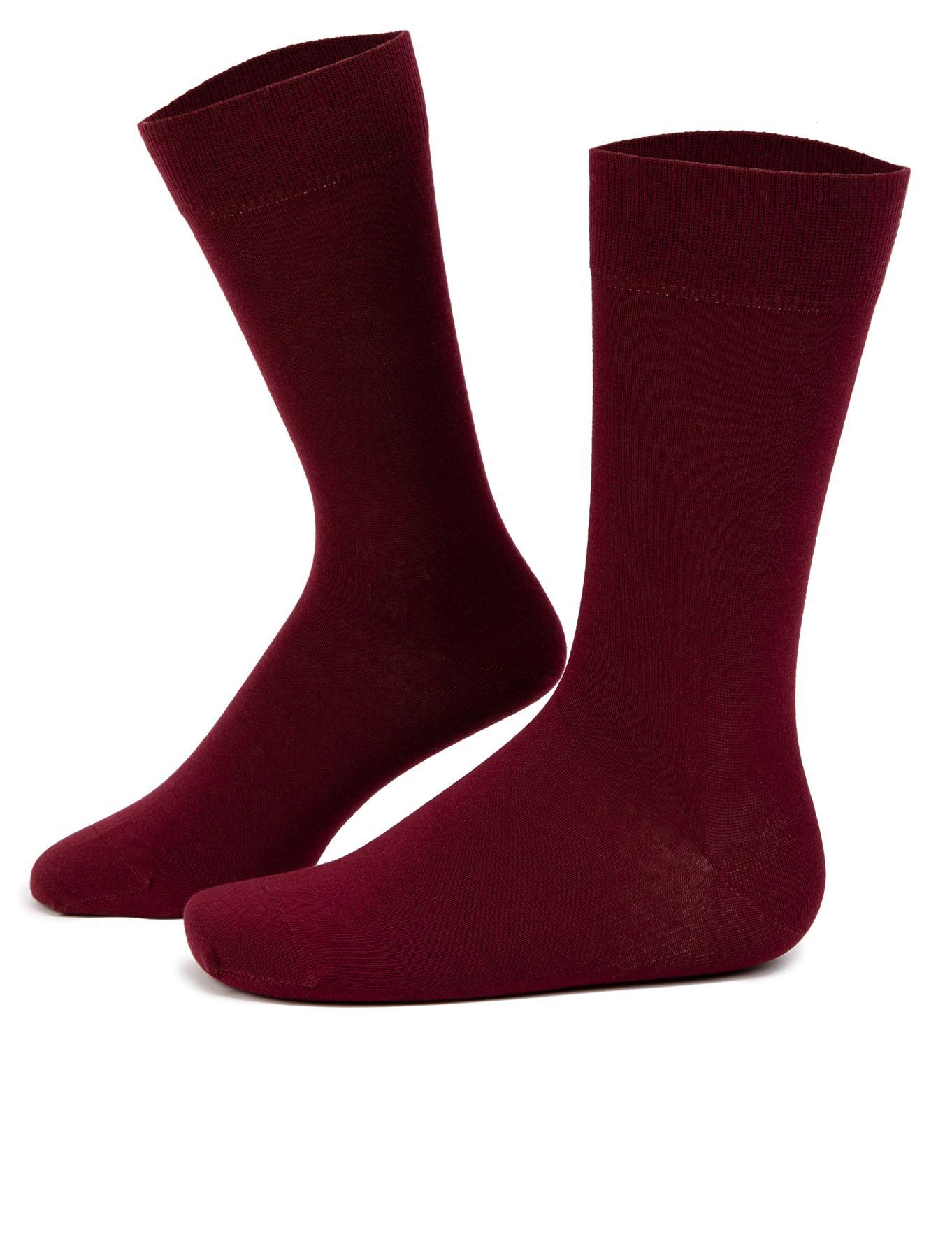 Bordo Çorap - 50246324008
